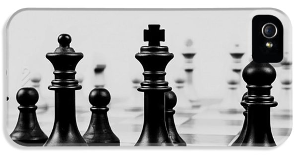 Chess Board iPhone 5 Cases - The Game of Kings iPhone 5 Case by Mountain Dreams