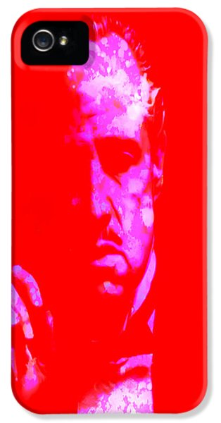 Albert S. Ruddy iPhone 5 Cases - The Godfather 3j iPhone 5 Case by Brian Reaves