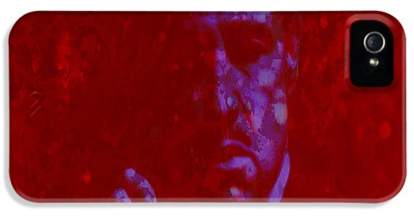 Albert S. Ruddy iPhone 5 Cases - The Godfather  iPhone 5 Case by Brian Reaves
