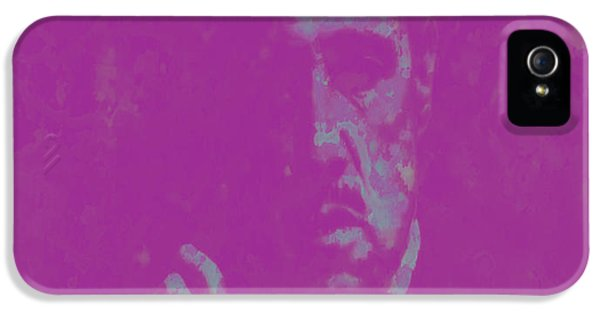 Albert S. Ruddy iPhone 5 Cases - The Godfather Marlon Brando iPhone 5 Case by Brian Reaves