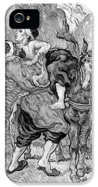 Ill iPhone 5 Cases - The Good Samaritan iPhone 5 Case by Vincent van Gogh