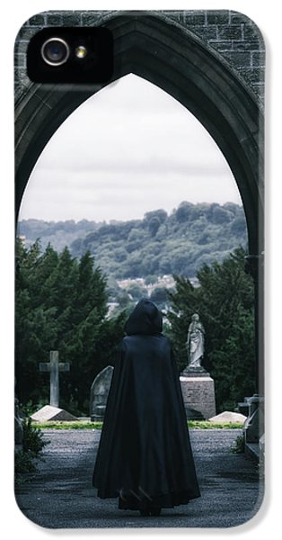 British Crime iPhone 5 Cases - The Graveyard iPhone 5 Case by Joana Kruse