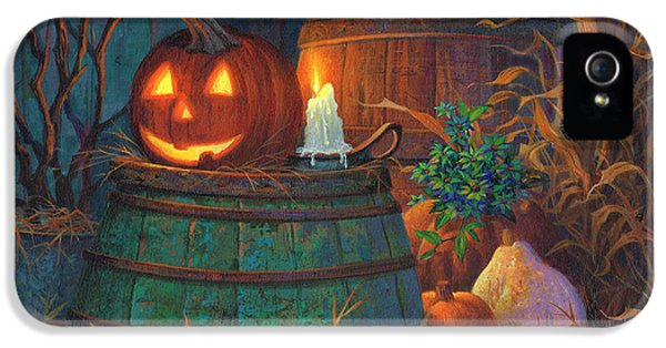 Michael iPhone 5 Cases - The Great Pumpkin iPhone 5 Case by Michael Humphries