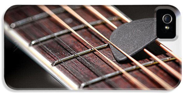 Acoustic iPhone 5 Cases - The Guitar Pick iPhone 5 Case by Olivier Le Queinec