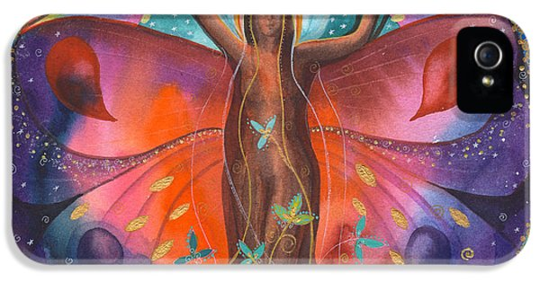Gaia iPhone 5 Cases - The Healing Tree iPhone 5 Case by Kate Bedell