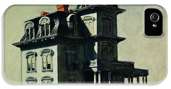 The House By The Railroad IPhone 5 / 5s Case by Edward Hopper