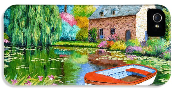 Jeans iPhone 5 Cases - The House Pond iPhone 5 Case by Jean-Marc Janiaczyk