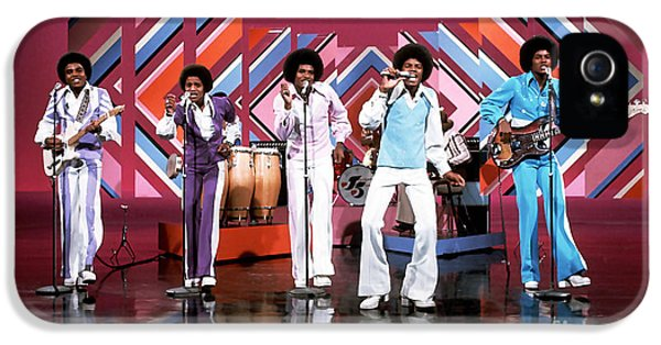 Jackson 5 iPhone 5 Cases - The Jackson 5  iPhone 5 Case by Marvin Blaine