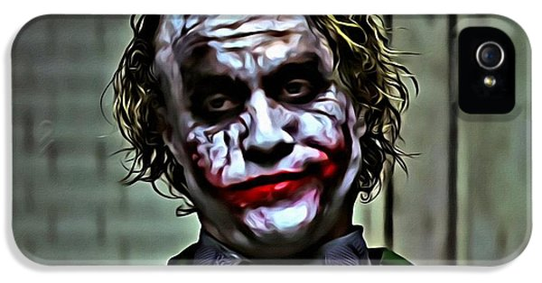 The Joker IPhone 5 / 5s Case by Florian Rodarte