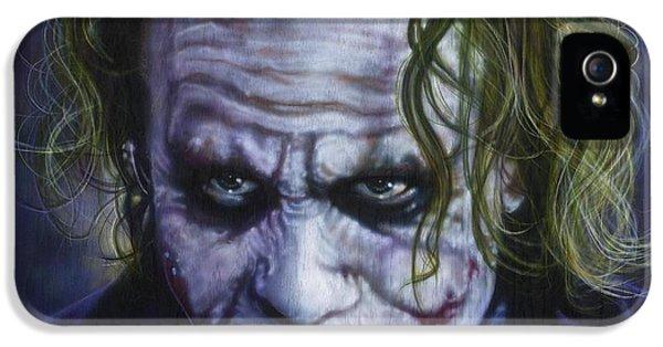 The Joker IPhone 5 / 5s Case by Tim  Scoggins