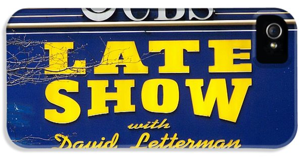 The Late Show With David Letterman IPhone 5 / 5s Case by Kenneth Summers