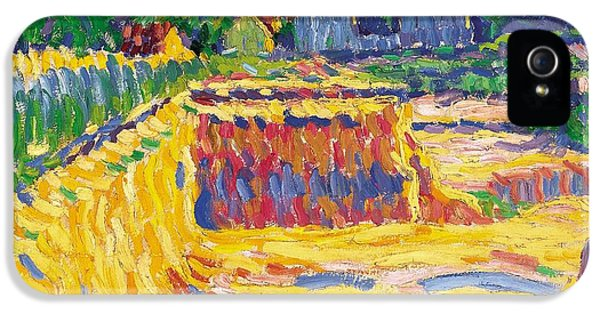 Loam iPhone 5 Cases - The Loam Pit iPhone 5 Case by Ernst Ludwig Kirchner