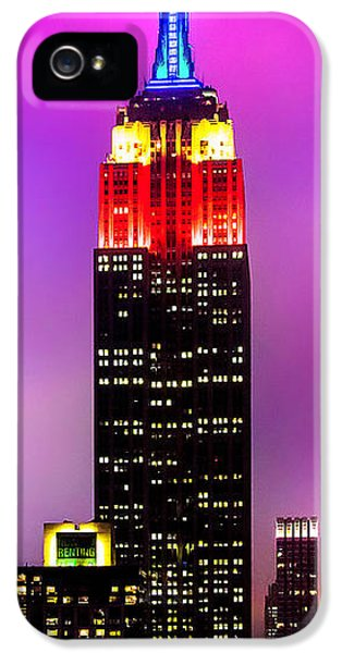 Midtown iPhone 5 Cases - The Love Empire iPhone 5 Case by Az Jackson