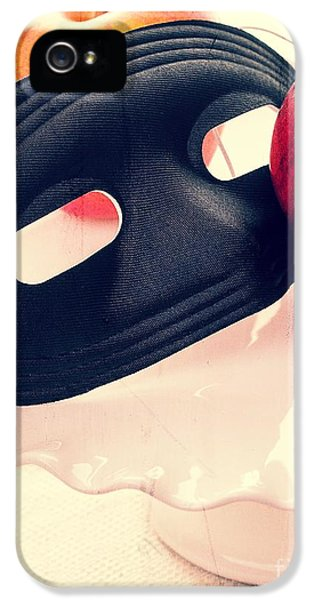 Masquerade iPhone 5 Cases - The Mask iPhone 5 Case by Edward Fielding