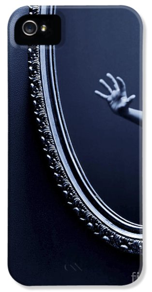 Fear iPhone 5 Cases - The Mirror iPhone 5 Case by Diane Diederich