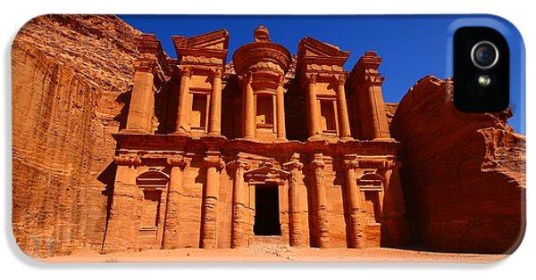Jordan iPhone 5 Cases - The Monastery iPhone 5 Case by FireFlux Studios