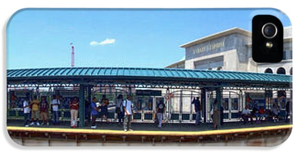 The Old And New Yankee Stadiums Panorama IPhone 5 / 5s Case by Nishanth Gopinathan
