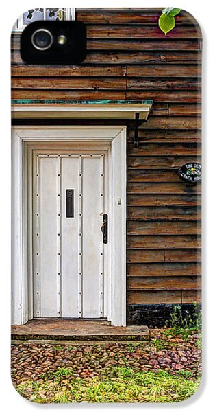 Greet iPhone 5 Cases - The Old Coach House Welcome iPhone 5 Case by Gill Billington