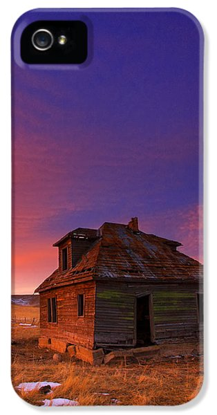 House iPhone 5 Cases - The Old House iPhone 5 Case by Kadek Susanto