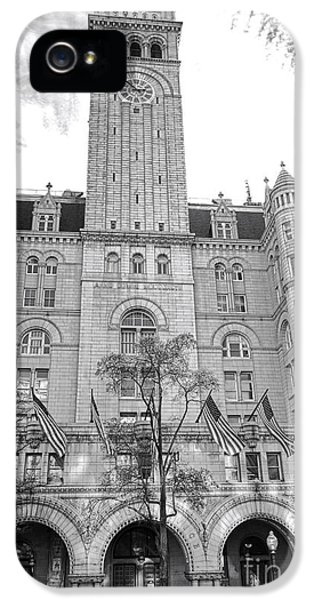 Architecture iPhone 5 Cases - The Old Post Office  iPhone 5 Case by Olivier Le Queinec