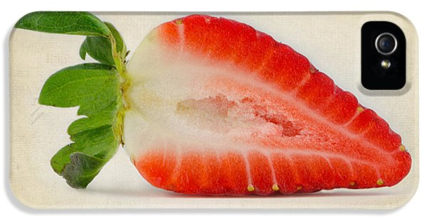Fresas iPhone 5 Cases - The Other Half iPhone 5 Case by Berenice Calderon