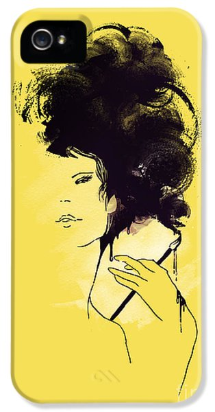 Painter iPhone 5 Cases - The painter iPhone 5 Case by Budi Satria Kwan