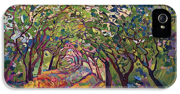 Natural iPhone 5 Cases - The Path iPhone 5 Case by Erin Hanson