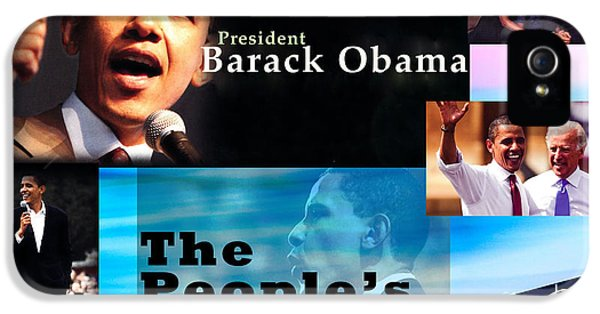 The People's President Still IPhone 5 / 5s Case by Terry Wallace