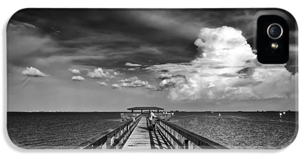 Safety iPhone 5 Cases - The Pier iPhone 5 Case by Marvin Spates