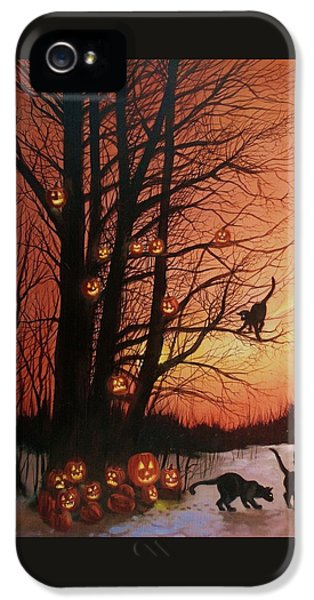 The Pumpkin Tree IPhone 5 / 5s Case by Tom Shropshire