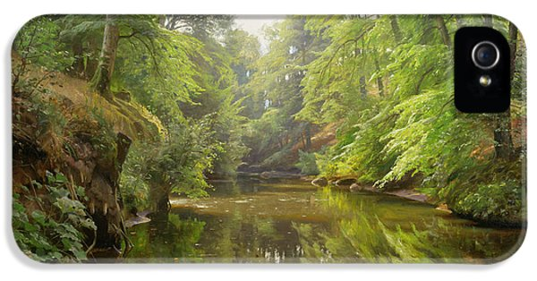 Danish iPhone 5 Cases - The Quiet River iPhone 5 Case by Peder Monsted