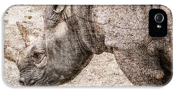 The Rhino IPhone 5 / 5s Case by Ray Van Gundy
