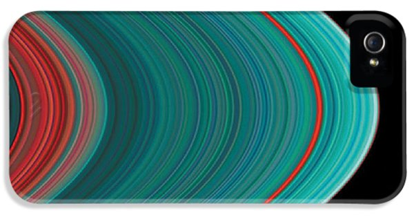 The Rings Of Saturn IPhone 5 / 5s Case by Anonymous