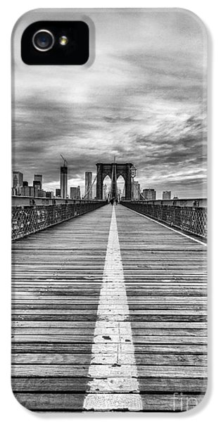 Nyc iPhone 5 Cases - The road to tomorrow iPhone 5 Case by John Farnan