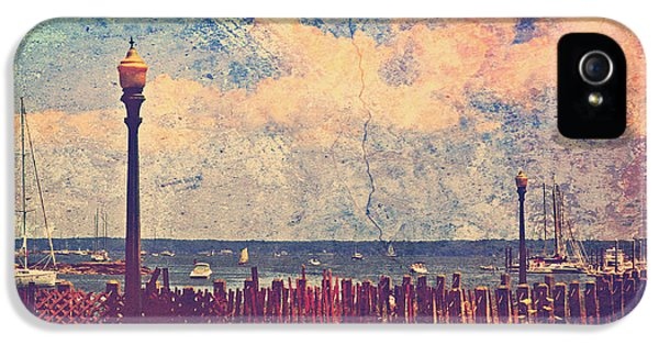 The Salty Air Sea Breeze In Her Hair Iv IPhone 5 / 5s Case by Aurelio Zucco