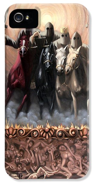 Revelations iPhone 5 Cases - The Seven Seals iPhone 5 Case by Anthony Falbo