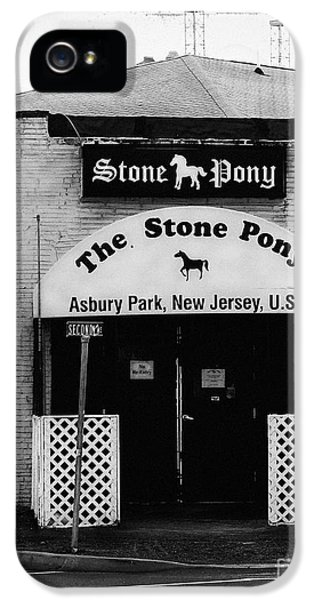 Springsteen iPhone 5 Cases - The Stone Pony iPhone 5 Case by Colleen Kammerer