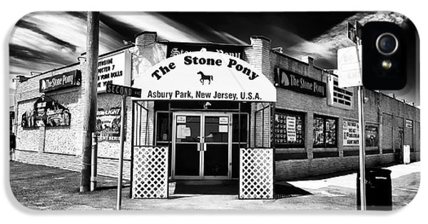 Aves iPhone 5 Cases - The Stone Pony iPhone 5 Case by John Rizzuto
