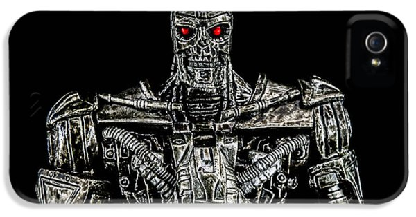 Automation iPhone 5 Cases - The terminator  iPhone 5 Case by Toppart Sweden