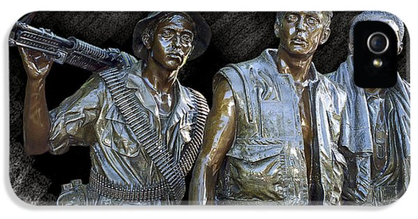 The Three Warriors Of Vietnam IPhone 5 / 5s Case by Daniel Hagerman