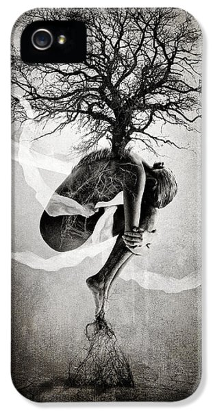 Textures iPhone 5 Cases - The Tree of Life iPhone 5 Case by Erik Brede
