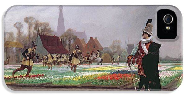 The Tulip Folly IPhone 5 / 5s Case by Jean Leon Gerome