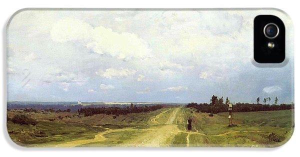 The Vladimirka Road IPhone 5 / 5s Case by Isaak Ilyich Levitan