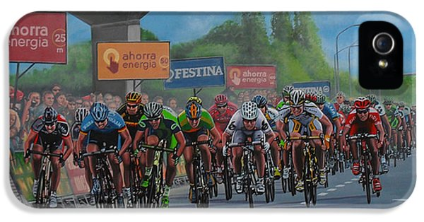Spain iPhone 5 Cases - The Vuelta iPhone 5 Case by Paul Meijering