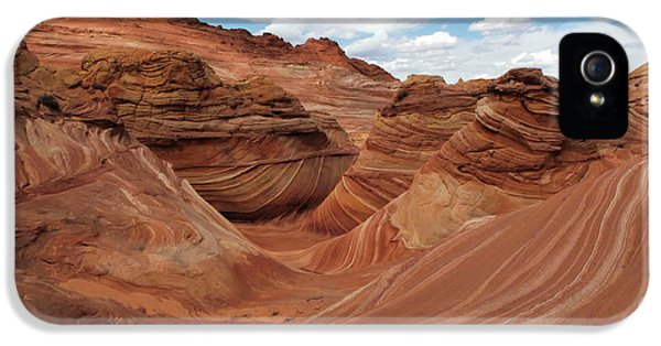 Bob Christopher iPhone 5 Cases - The Wave Center Of The Universe iPhone 5 Case by Bob Christopher