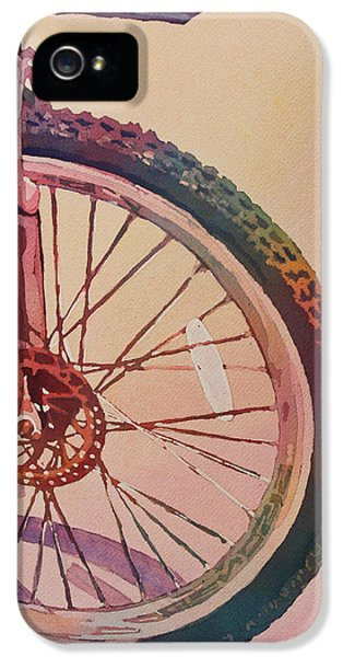 The Wheel In Color IPhone 5 / 5s Case by Jenny Armitage