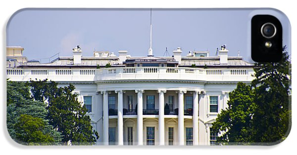 The Whitehouse - Washington Dc IPhone 5 / 5s Case by Bill Cannon