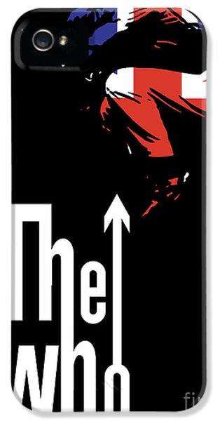 Digital iPhone 5 Cases - The Who No.01 iPhone 5 Case by Caio Caldas