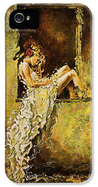 Contemplative iPhone 5 Cases - The Window iPhone 5 Case by Karina Llergo Salto