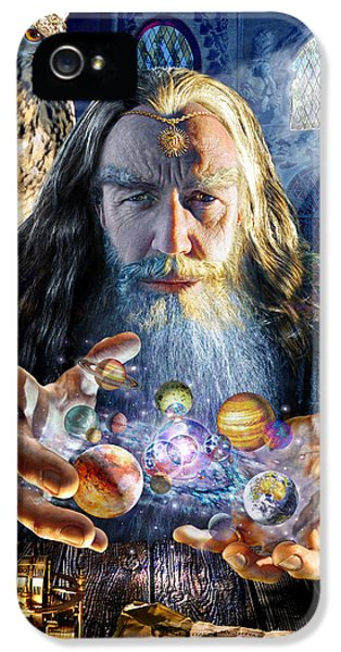 Puzzles iPhone 5 Cases - The Wizards World iPhone 5 Case by Adrian Chesterman